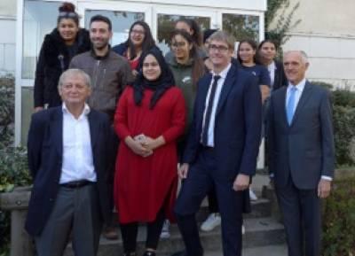 Visite du délégué interministériel à la lutte contre la pauvreté