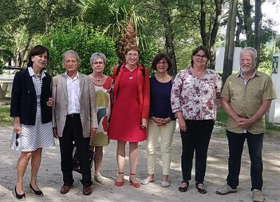 Une visite des sénatrices au CER